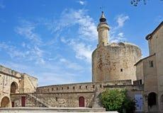 Aigues-Mortes, Frankrijk Stock Afbeelding