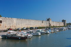 Aigues mortes Royalty Free Stock Images