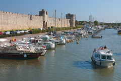 Aigues mortes Royalty Free Stock Photos