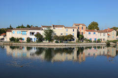Aigues-Mortes, southern France Stock Photography