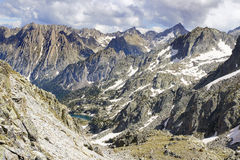 Aiguestortes en Estany DE Sant Maurici Nationaal Park Royalty-vrije Stock Afbeelding