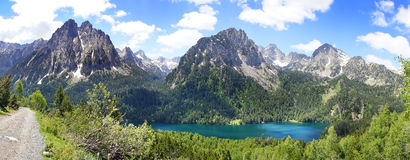 Aiguestortes and Estany de Sant Maurici National Park. Royalty Free Stock Photo