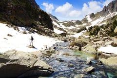 Aiguestortes i Estany De Sant Maurici park narodowy obraz royalty free