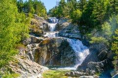 Aiguestortes national park Stock Images