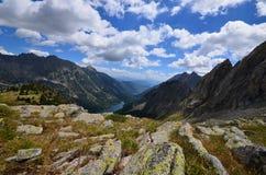Aiguestortes park narodowy zdjęcie royalty free