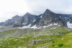 Aiguile de Chardonnet Mont Blanc Royalty Free Stock Image