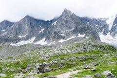 Aiguile de Chardonnet Mont Blanc Royalty Free Stock Images