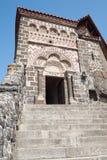 aiguilhe chapelle de michel saint Royaltyfri Bild