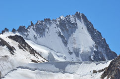 Aiguille d'Argentiere Royalty Free Stock Photo