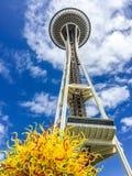 Aiguille de l'espace à Seattle, Washington Photos stock