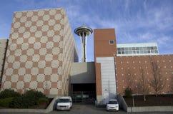 Aiguille de l'espace d'architecture de Seattle Photos libres de droits