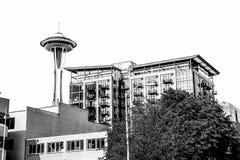 Aiguille de l'espace de Seattle Photos stock