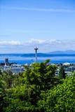 Aiguille de l'espace de Seattle images stock