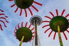 Aiguille de l'espace, Seattle, Washington State Photo stock