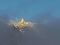 Aiguille de la Tsa Royalty Free Stock Photography