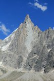 Aiguille des Drus, Chamonix Royalty Free Stock Images