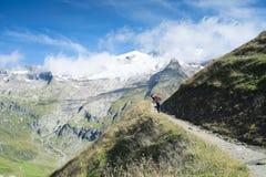 Aiguille des-glaciärer Arkivbild