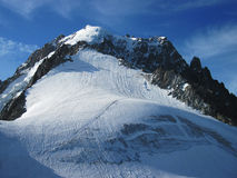 Aiguille des Grand Montets Royalty Free Stock Photos