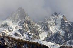 Aiguille du Chamonix Photos stock