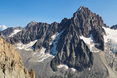 Aiguille du Chardonnet Stock Photography