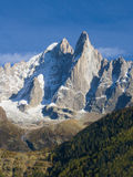 Aiguille du Dru Stock Photo