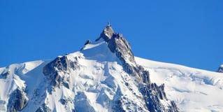 Aiguille Du Midi, Альпы, Шамони, Франция стоковая фотография