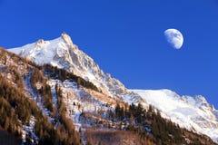 Aiguille du Midi. Stock Photography