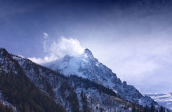 Aiguille du Midi. Stock Photos