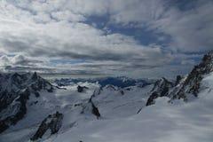 Aiguille du Midi Royalty-vrije Stock Foto's