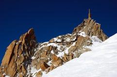 Aiguille du Midi Stock Images