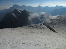 Aiguille du Midi Photo stock