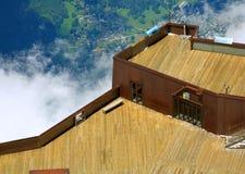 Aiguille du Midi Fotografie Stock