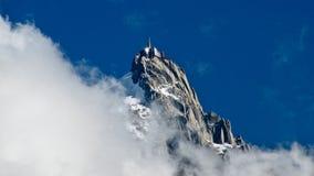 Aiguille DU Midi lizenzfreies stockbild