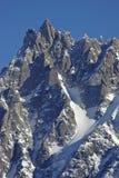 Aiguille du Midi di Mont Blanc Immagini Stock