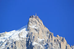 Aiguille du Midi, France Royalty Free Stock Image