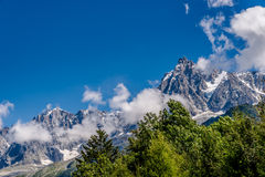 The Aiguille du Midi Royalty Free Stock Image