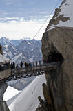 Aiguille du Midi - French Alps Royalty Free Stock Photo