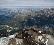 Aiguille du Midi - French Alps Stock Images
