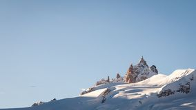 Ski Resort French Alps Royalty Free Stock Photos