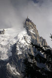 Aiguille du Midi Stock Photo