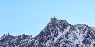 Aiguille du Midi - Mont Blanc Massif Stock Photos