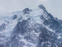 Aiguille du Midi Summit Stock Image