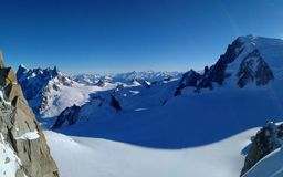 Aiguille du Midi Royalty Free Stock Photo