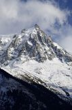 Aiguille du Midi Royalty Free Stock Images