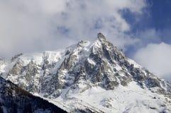 Aiguille du Midi Stock Image