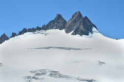 The Aiguille du Tour Stock Photography