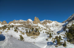 Aiguilles d'Amitges Royalty Free Stock Images