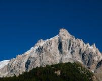 Aiguilles de Chamonix Imagem de Stock Royalty Free
