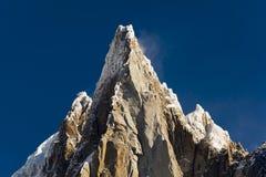 Aiguilles du Alpes dal Mer de Glace, Chamonix-Mont-Blanc Fotografie Stock