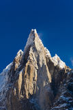 Aiguilles du Alpes from the Mer de Glace, Chamonix Stock Photo